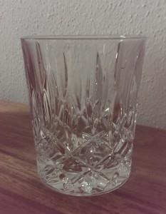 Eine Art Whisky Glas